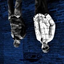 JV & TEEJ Blue Wall